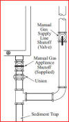 Gas hook up - tankless hot water